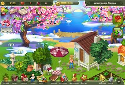 Игра Райский сад в контакте