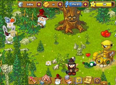 Игра Волшебный лес в контакте