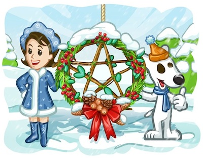 С Днем Зимнего Солнцестояния!
