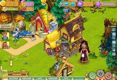 Игра Тридевятое Царство в контакте