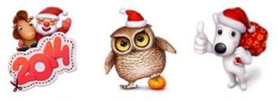 Новогоднее настроение ВКонтакте