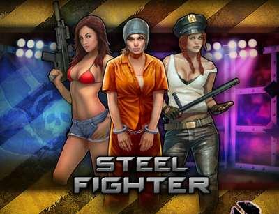 """Начальная заставка приложения ВКонтакте """"Steel Fighter"""""""
