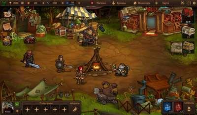 Интерфейс и юзабилити игры «Brave Tales»