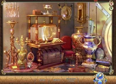 """Поиск предметов в игре ВКонтакте """"Шерлок: Загадочный Альбион"""""""