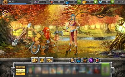 Lords&Swords игра для ВКонтакте