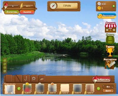 Украинская рыбалка приложение для ВКонтакте