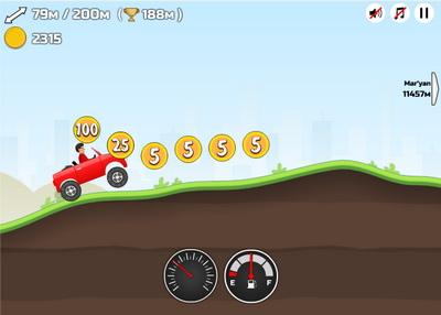 Hill Climb Racing для ВКонтакте