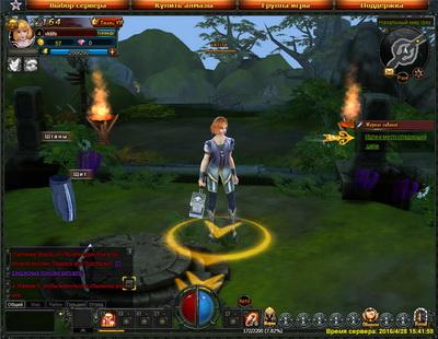 ролевая игра Бездна MMORPG