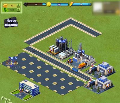 игра нефть! для ВКонтакте