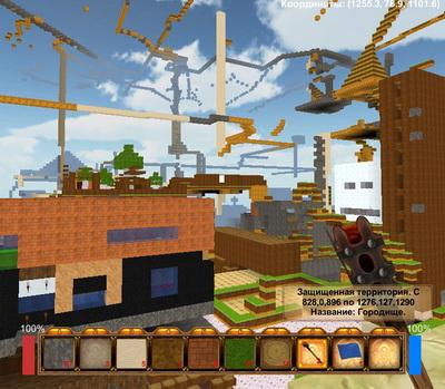 игра на манер майнкрафт эволла 3d